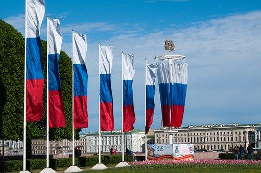 День Города, Флаг России